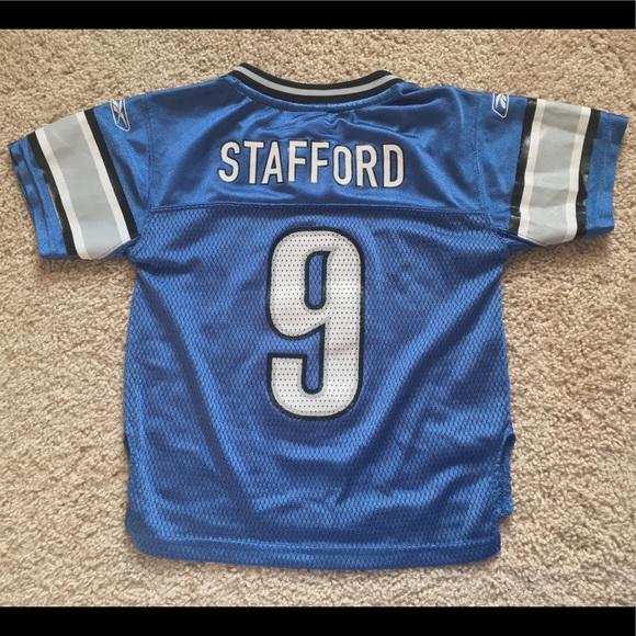 Reebok Other   Detroit Lions Matthew Stafford Toddler Jersey 4t